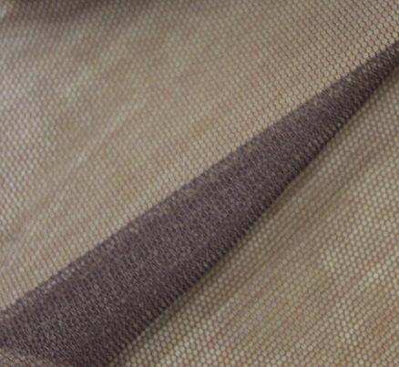 Тюл еластичен дюс - кафяв