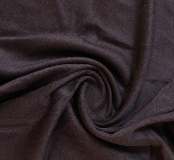 Велур дюс - кафяво