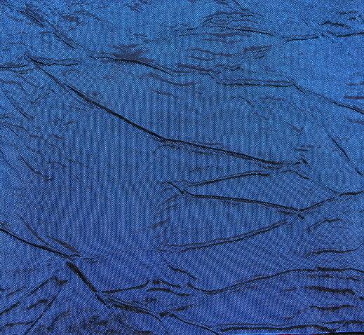 Тафта креш - кралско синьо