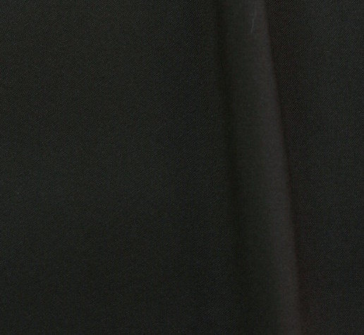 Плат габардин с вискоза - Черно 330