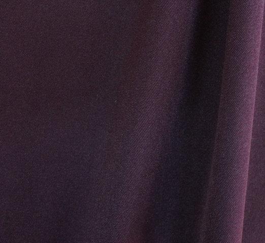 Плат габардин с вискоза - Патладжан