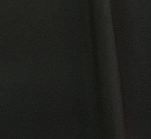 Плат габардин с вискоза - Черно 400