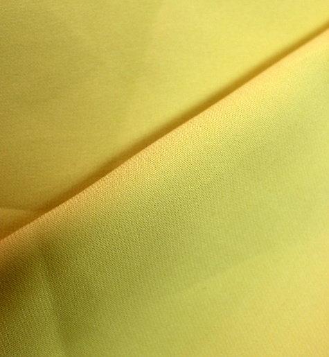 Плат жоржет - Жълто