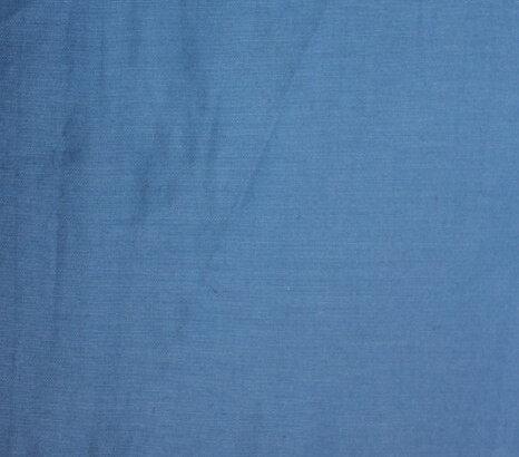 Поплин еластичен дюс - светлосин