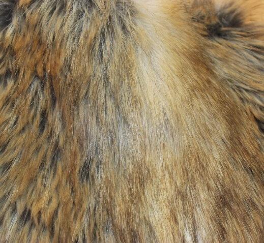 Еко кожа дълъг косъм - Лисица