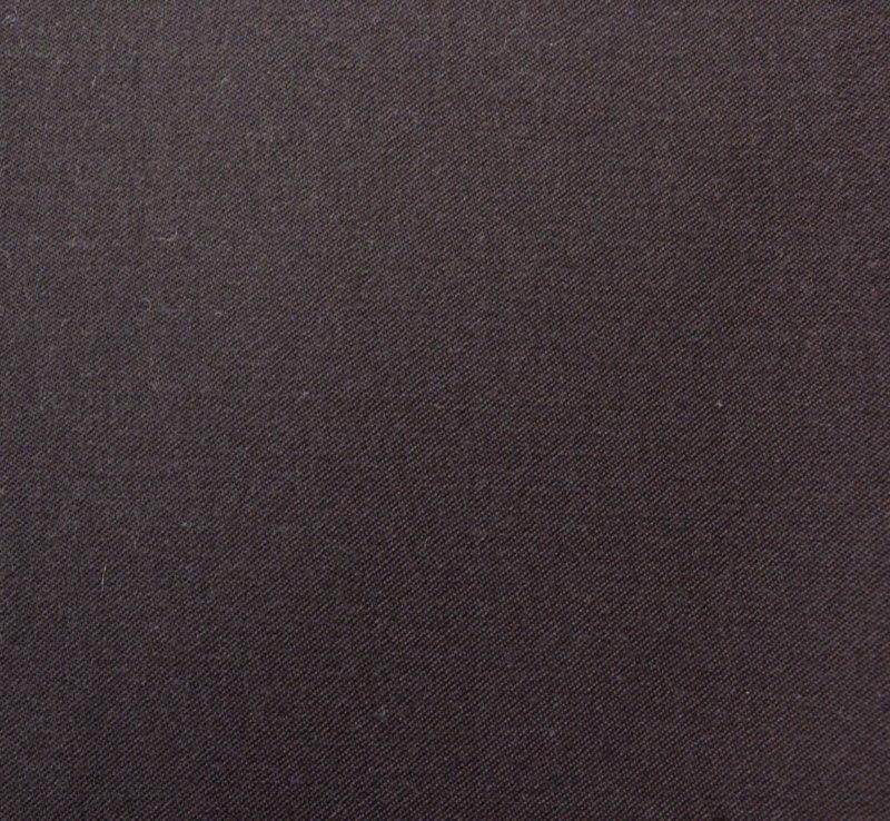 Плат габардин - студена вълна шоколадово кафяво