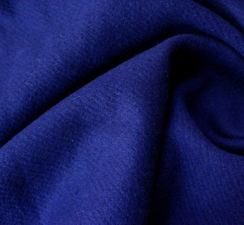 Плат кашмир - Тъмно син вълна