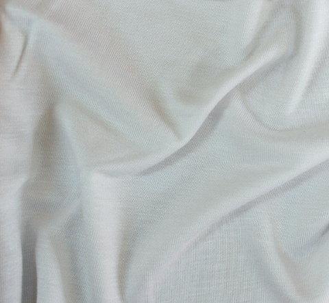 Плат трико вискоза дюс  - Бяло