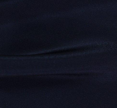 Плат изкуствена коприна - Черен