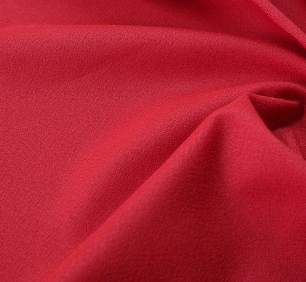 Плат жоржет не еластичен дюс - червено