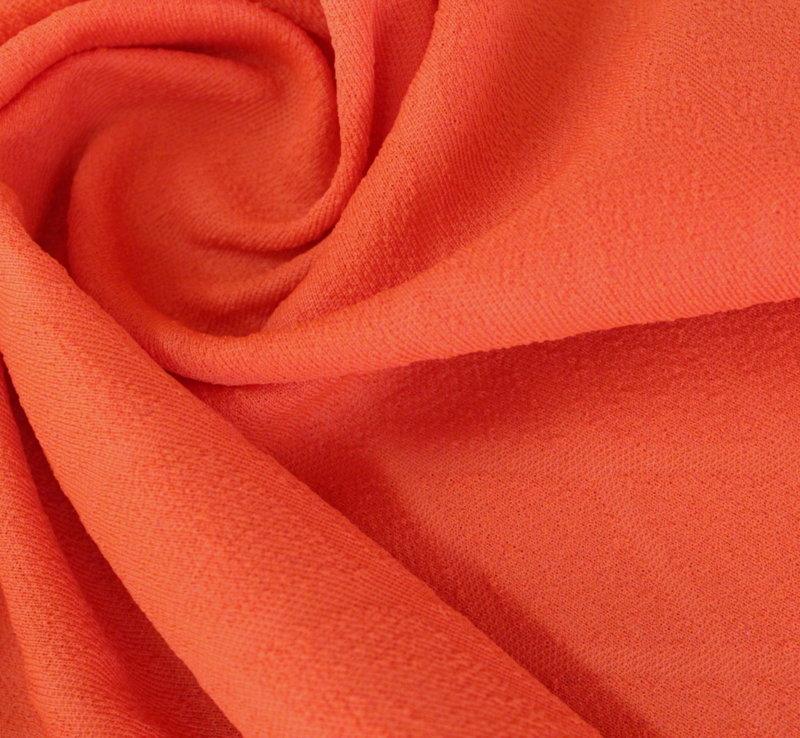 Трико жакард - оранжево