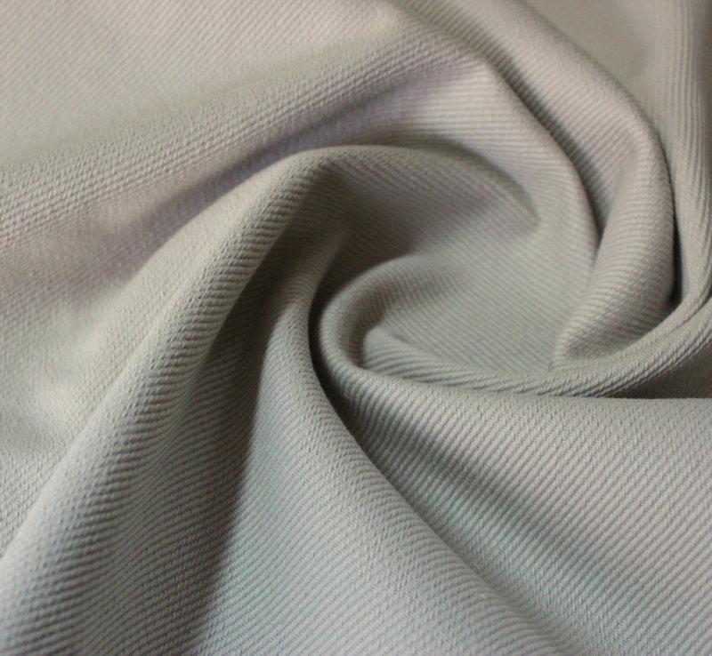Плат памук плътен дюс - светло бежаво с релеф