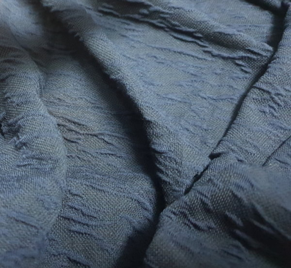 Трико жакард дюс - синьо сиво