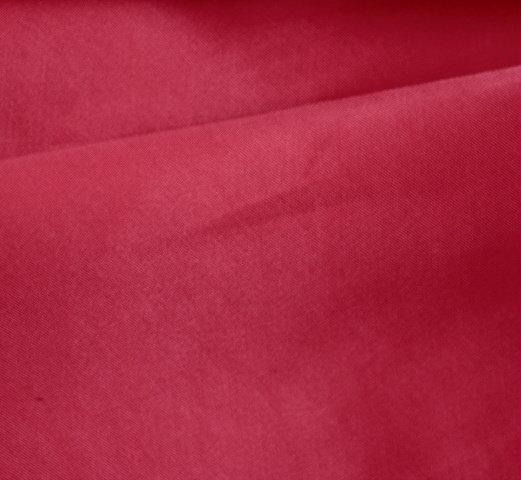 Плат еластичен памучен сатен - Червен