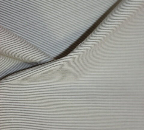 Плат габардин рипс - светлобежав