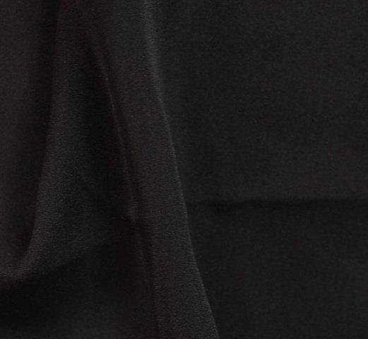 Ацетатна коприна дюс - Черен