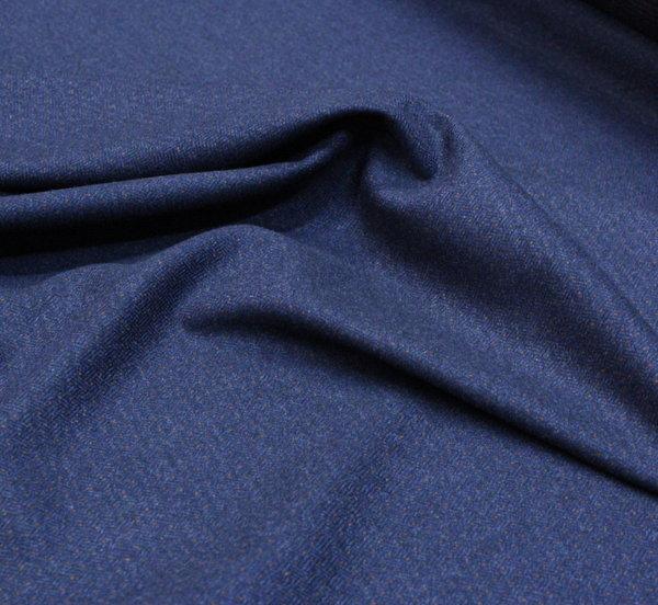Вълнен плат синьо с бежаво
