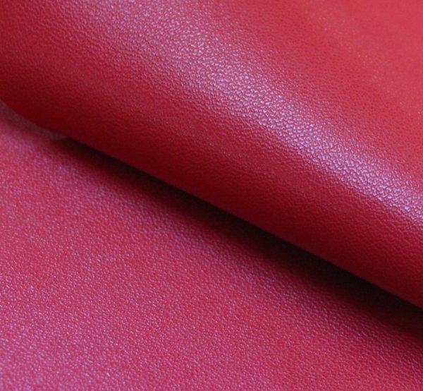 Еко кожа еластична - червена с трико гръб