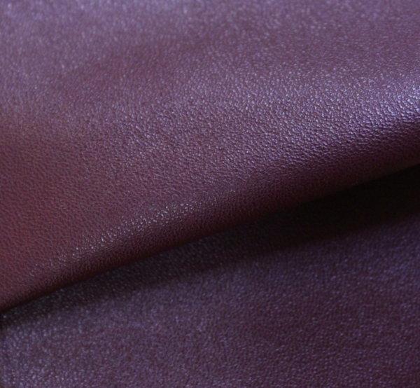 Еко кожа еластична - тъмно бордо с трико гръб