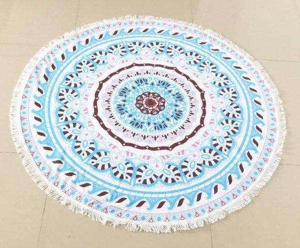 Плажна кръгла кърпа Kai Di