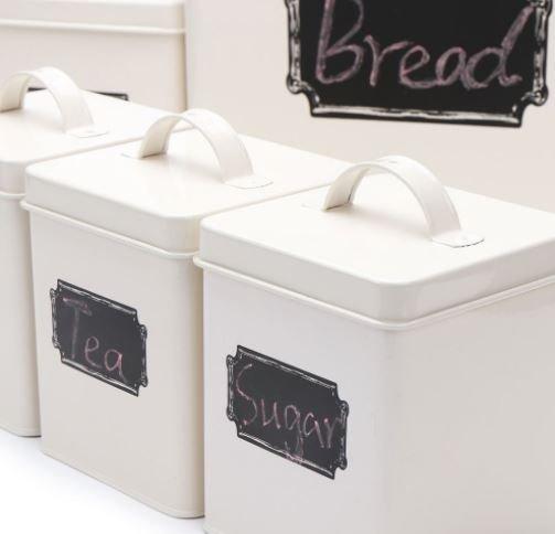 Комплект кутии за съхранение M&G Homes Storage Cream, 5 бр