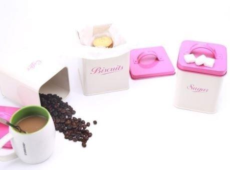 Комплект кутии за съхранение M&G Homes Storage Pink, 5 бр