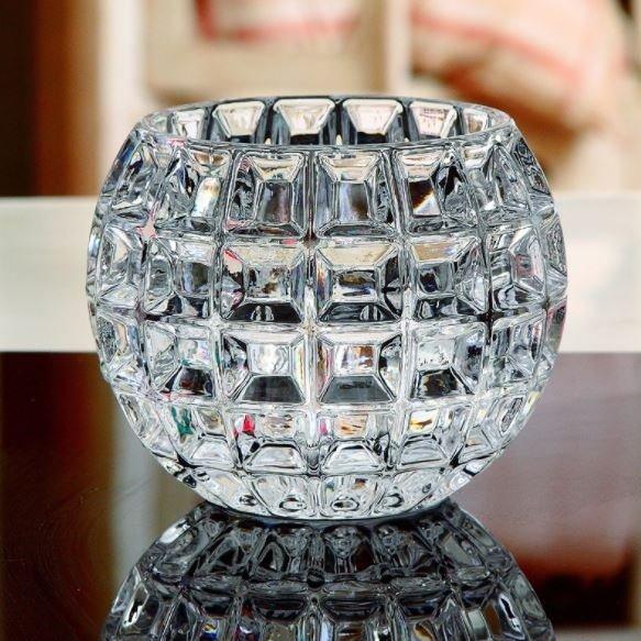 Стъклена ваза Сфера