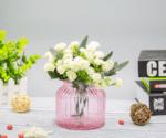 Стъклена ваза Буркан, Зелена