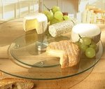 Стъклена въртяща поставка за торта Mignon, 35 см / 45 см, 1 бр