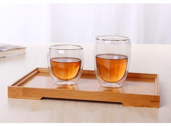 Стъклени Чаши за Чай с Двойно стъкло, 2 бр