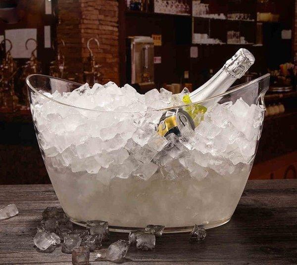 Прозрачна Шампаниера за Бутилки
