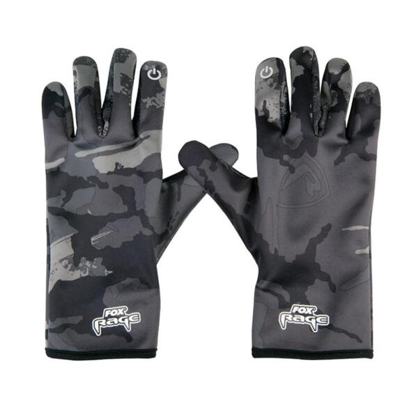 Gloves Fox Rage THERMAL CAMO GLOVES