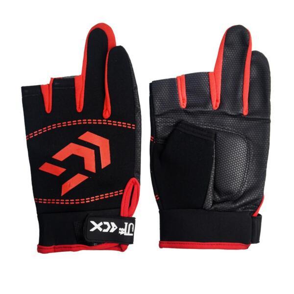 Gloves DREAM FISH CX 3CUT - Red