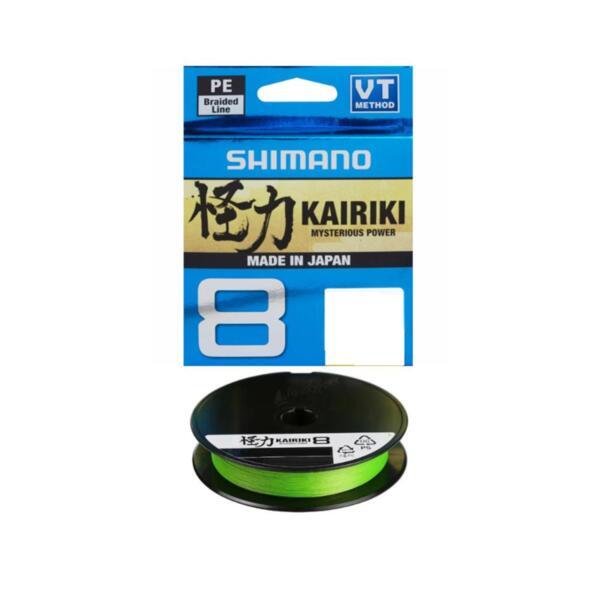 Braided Line Shimano KAIRIKI 8 MANTIS GREEN - 150м
