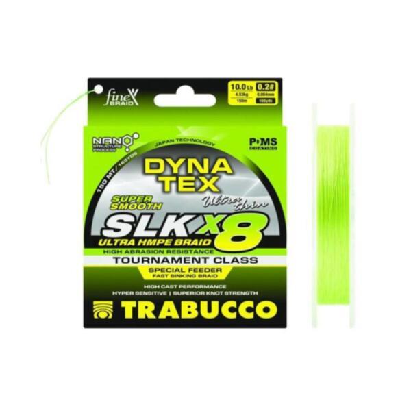 Braided Line Trabucco DYNA-TEX SLK X8 SPECIAL FEEDER 150 m