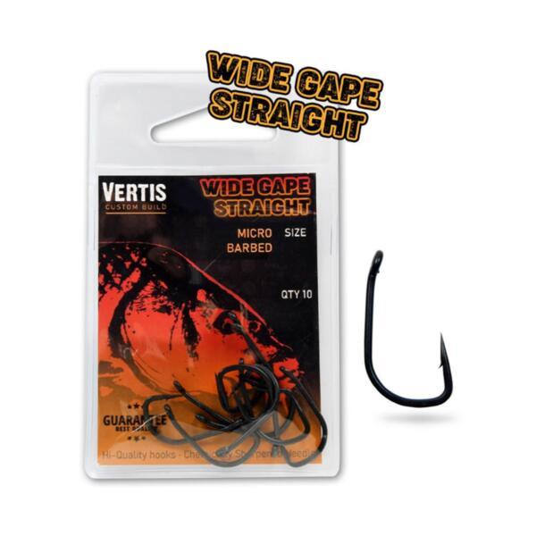 Hooks Vertis Carp 9003 WIDE GAPE STRIGHT