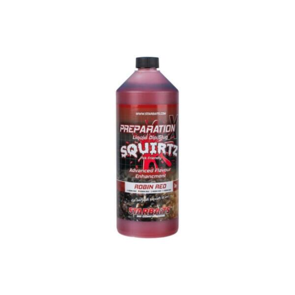 Liquid Starbaits SQUIRTZ PREPARATION X ROBIN RED