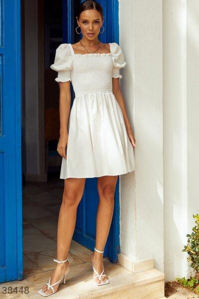 Рокля / Dress SS21-6 White