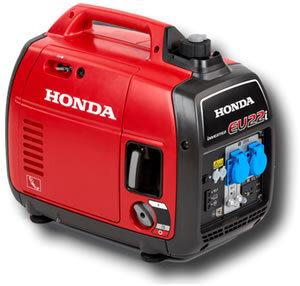 генератор инверторен HONDA EU22i, 2.2 KW