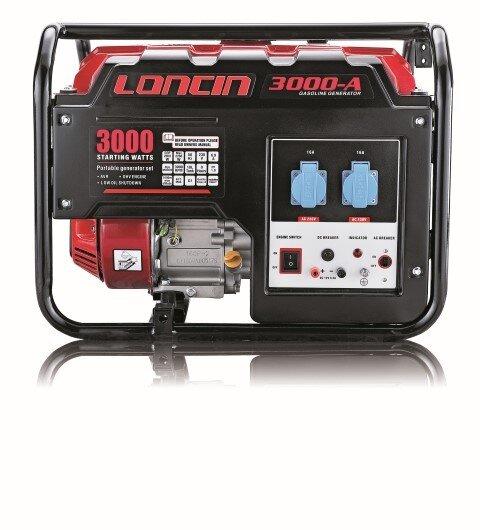 Генератор LONCIN LC 3000-A, 2,5 KW