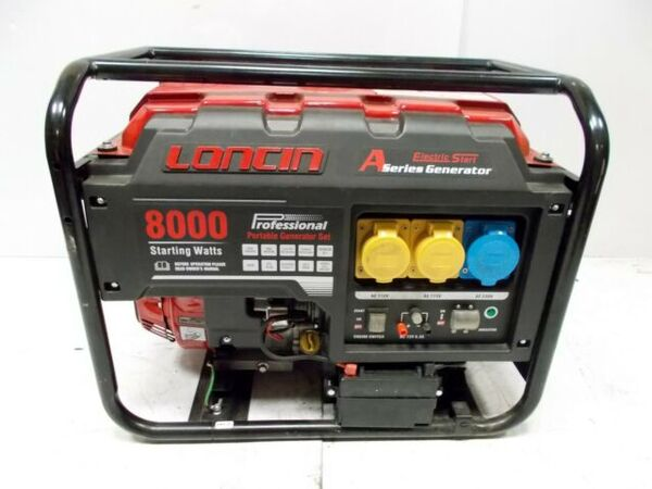 Генератор LONCIN LC 8000D-A, 6,5 KW, Ел. стартер
