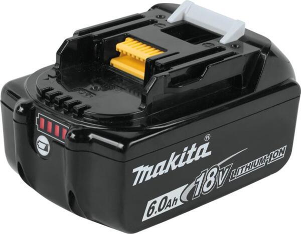 BL1860B, Батерия 18V 6.0 Ah