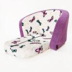 Детски разтегателен фотьойл в лилаво