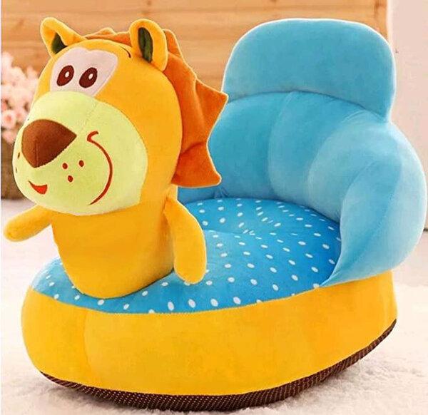 """Бебешки плюшен фотьойл """"Лъвче"""""""