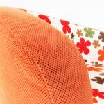 Детски разтегателен диван в оранжево