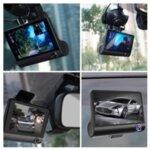 Видеорегистратор Amio – HD DVR VIDEO CAR DVR + Камера за задно виждане