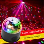 LED диско лампа с вграденa блутут тонколонка Disco Party Light