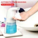 Автоматичен диспенсър за сапун душ, гел, дезинфектант