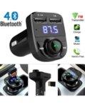 FM Трансмитер X8 - Bluetooth, USB, FM аудио предавател, MP3 плейър, Handsfree