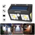 Соларна лампа със сензор за движение и лупи